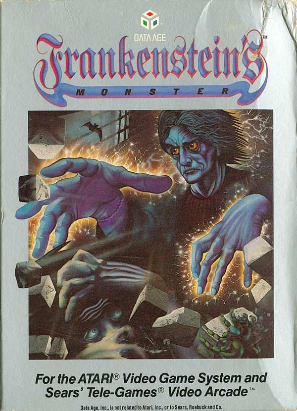 Frankenstein's Monster - Box Front