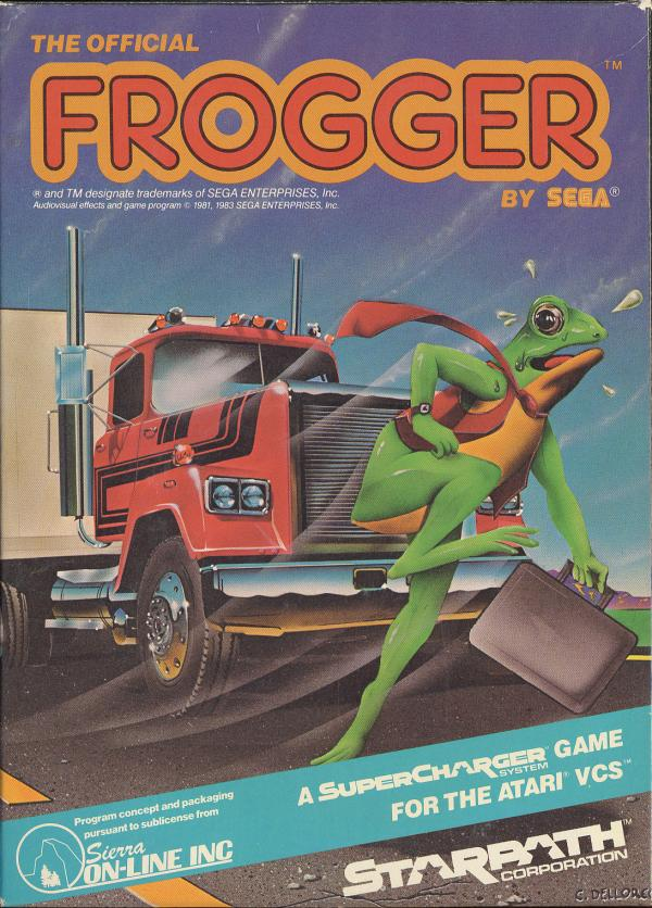 Frogger, The Official - Box Front