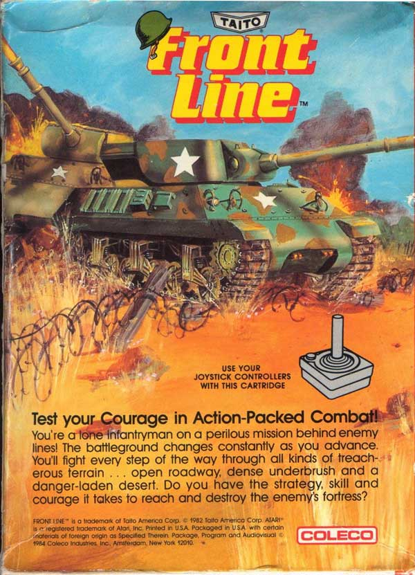 Front Line - Box Back