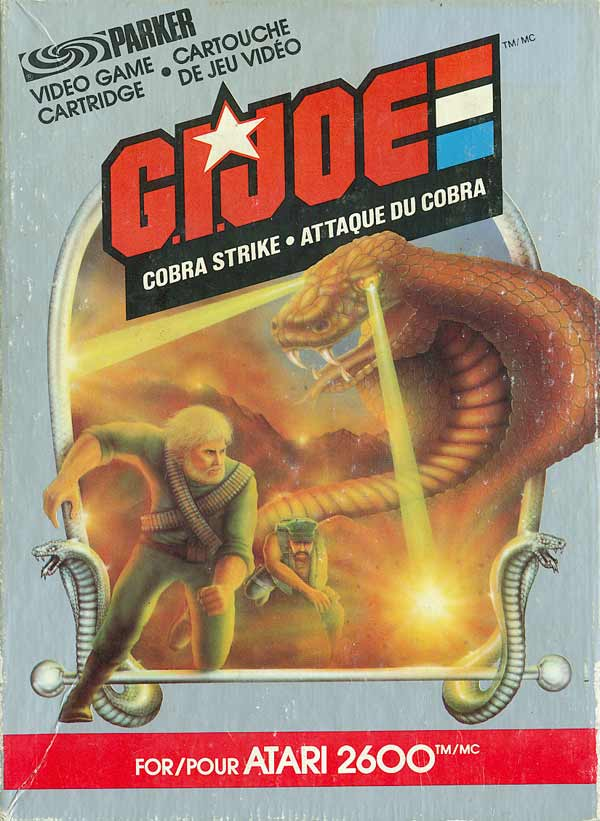 G.I. Joe - Cobra Strike - Box Front