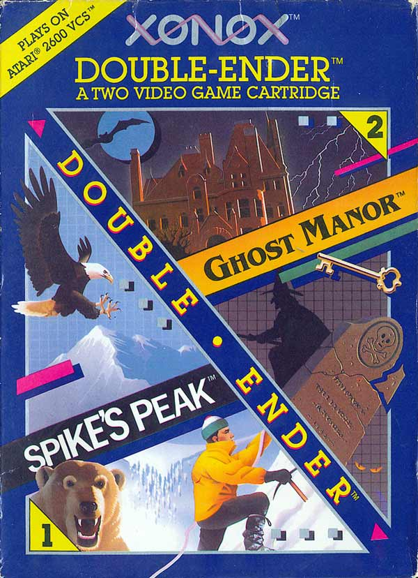 Ghost Manor/Spike's Peak - Box Front