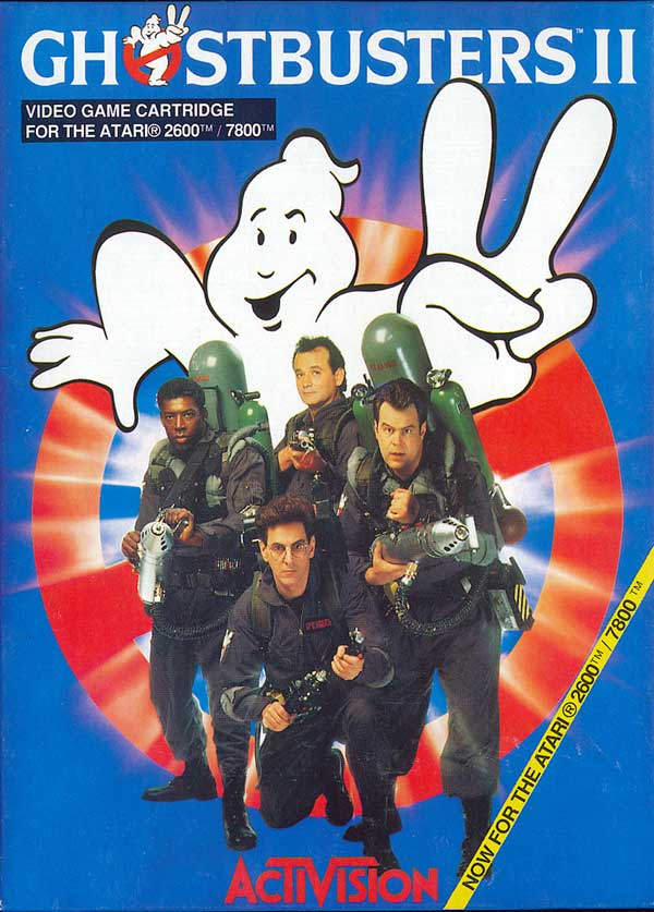 Ghostbusters II - Box Front
