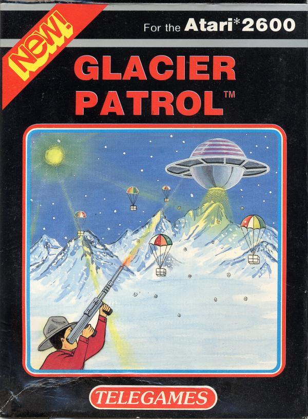 Glacier Patrol - Box Front