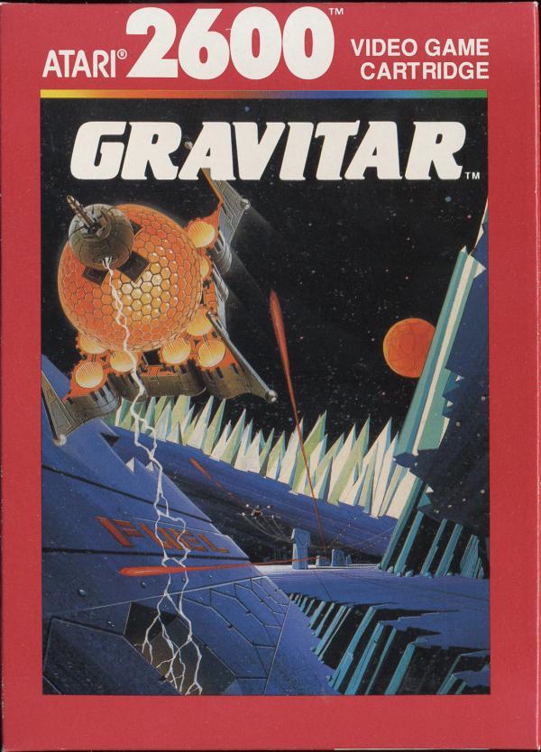 Gravitar - Box Front