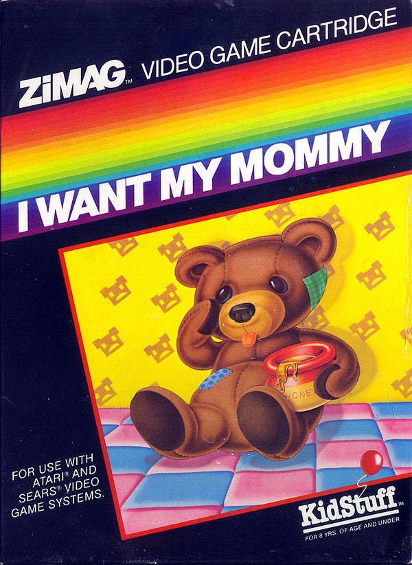 I Want My Mommy - Box Front