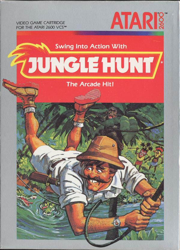 Jungle Hunt - Box Front