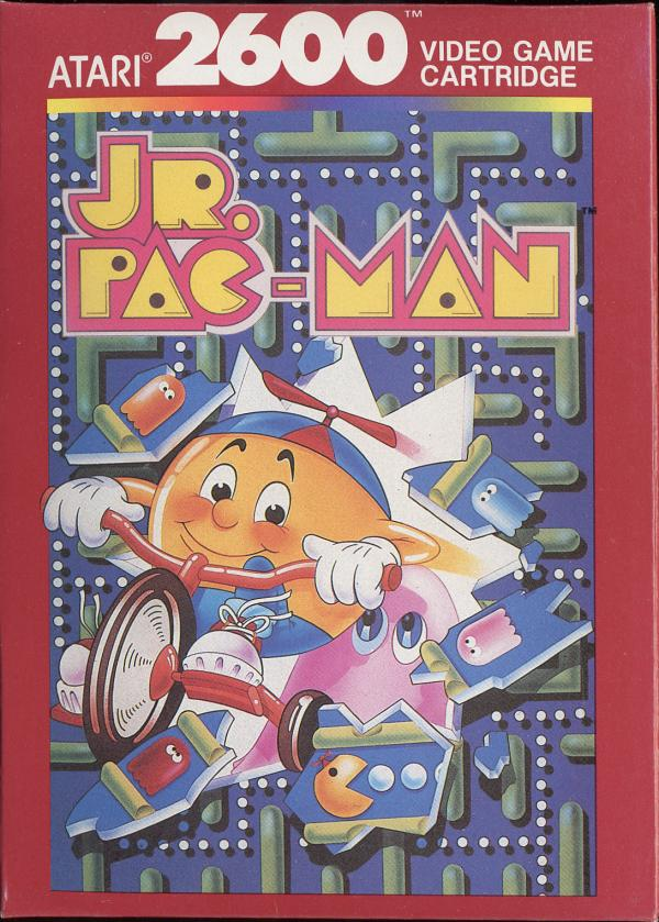 Jr. Pac-Man - Box Front