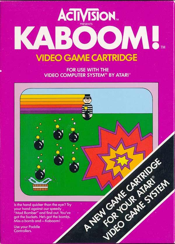 Kaboom! - Box Front