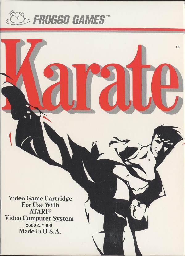 Karate - Box Front