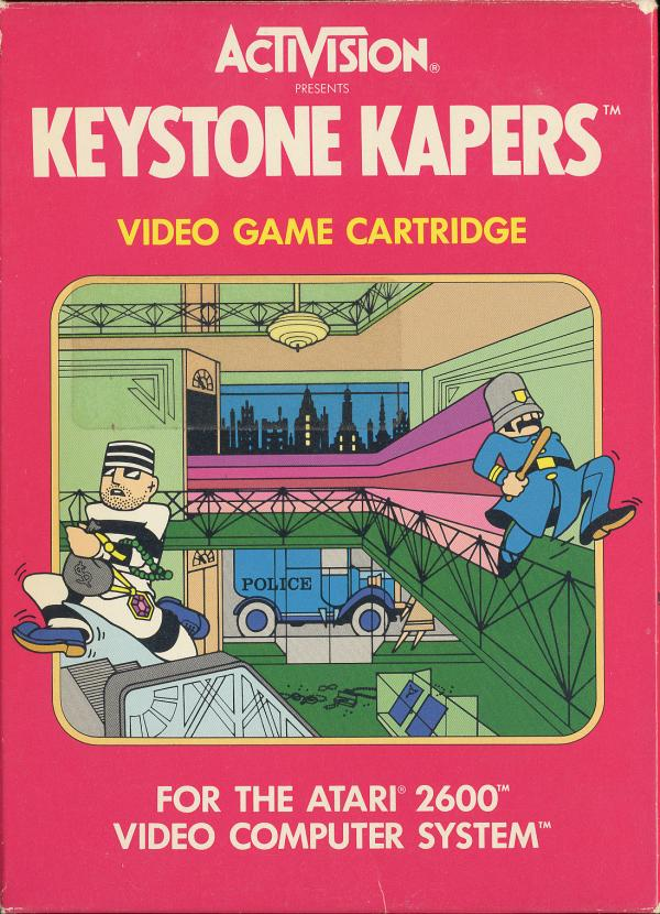 Keystone Kapers - Box Front