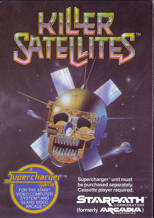 Killer Satellites - Box Front