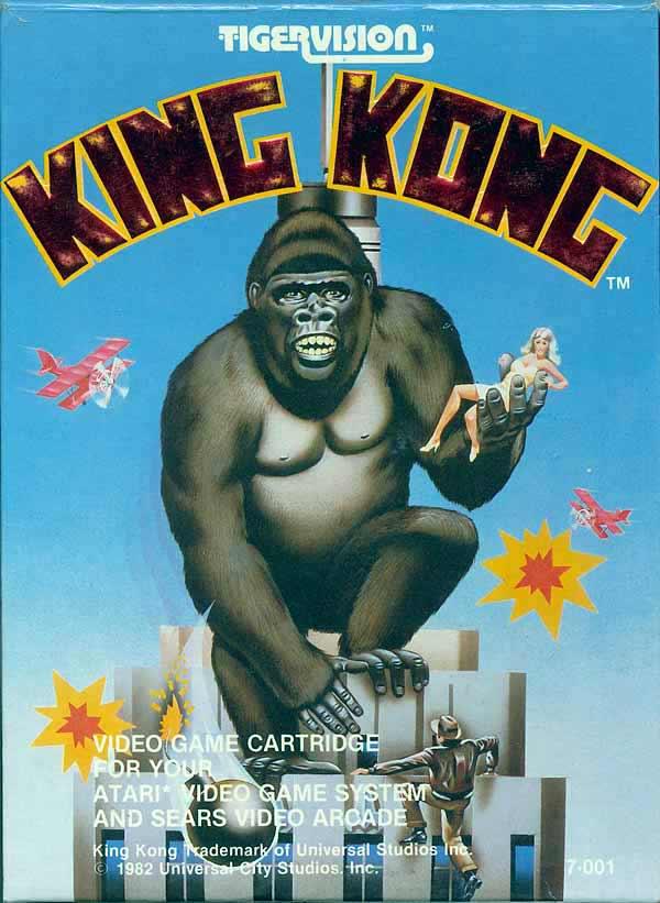 King Kong - Box Front