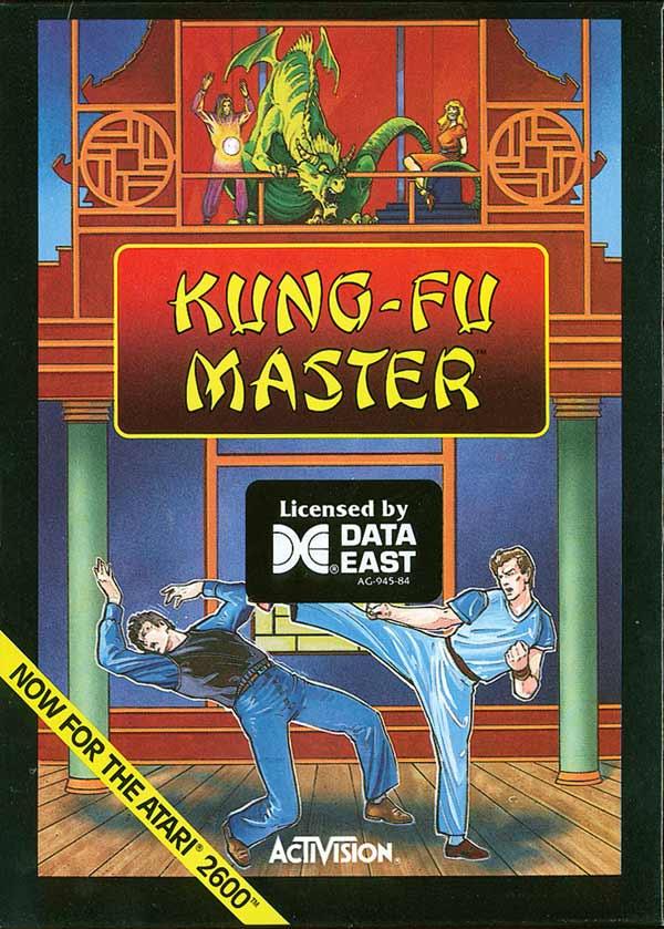 Kung Fu Master - Box Front
