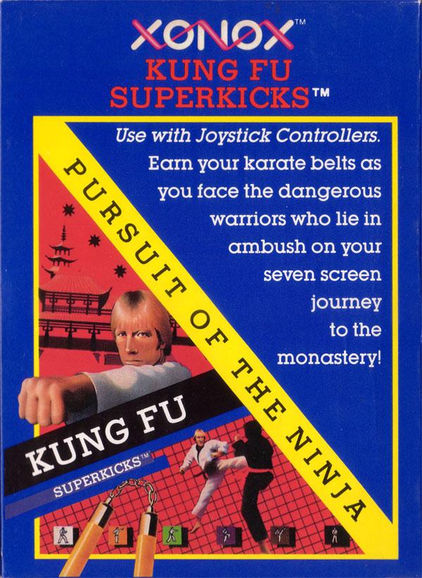 Kung Fu Superkicks - Box Front