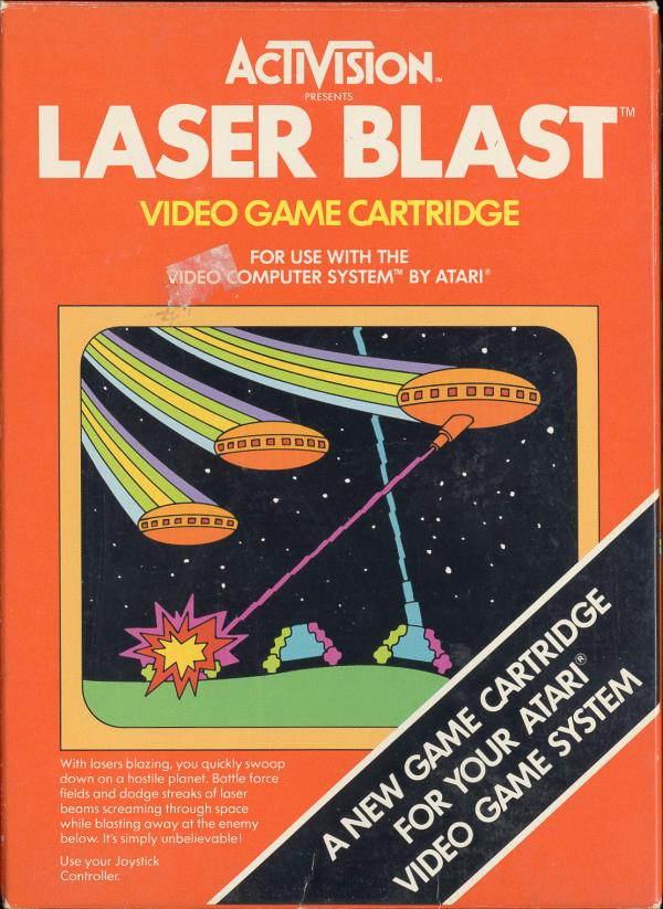 Laser Blast - Box Front