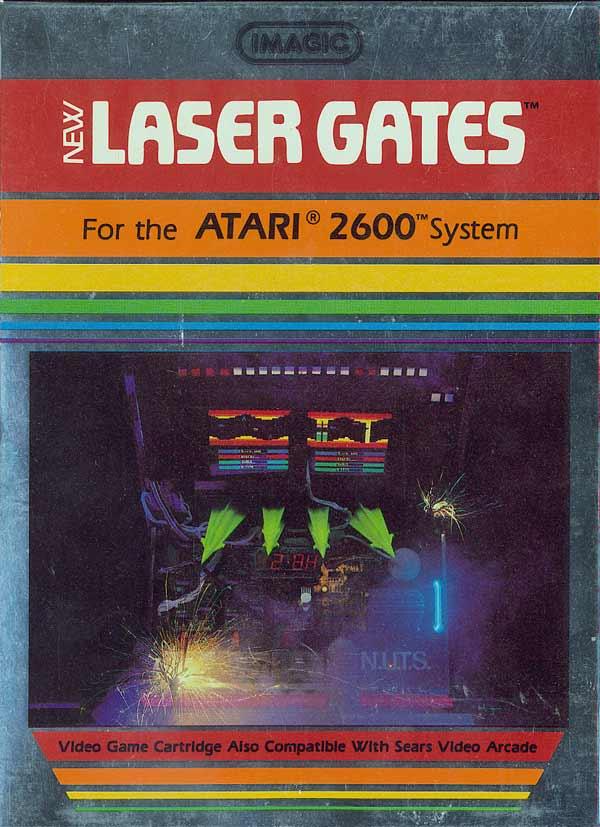 Laser Gates - Box Front