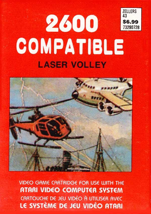 Laser Volley - Box Front