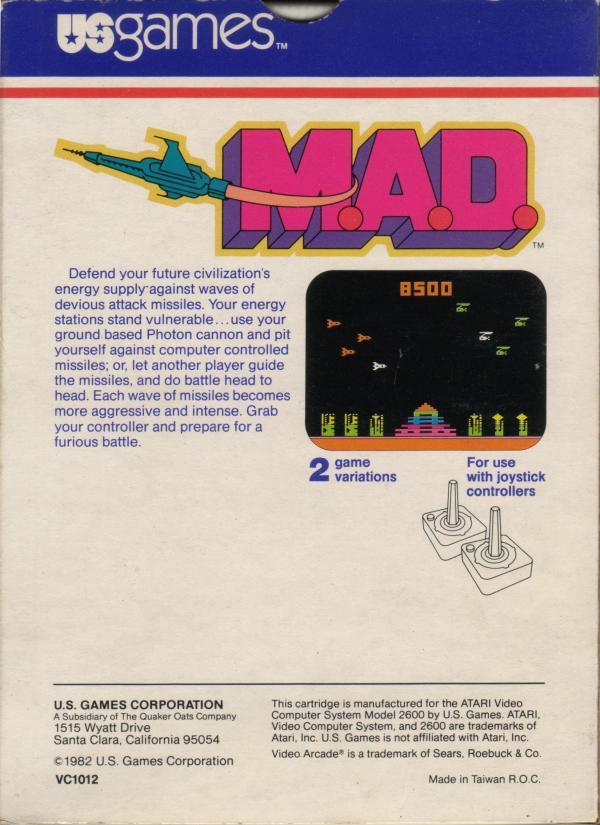 M.A.D. - Box Back