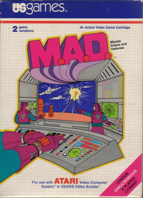 M.A.D. - Box Front