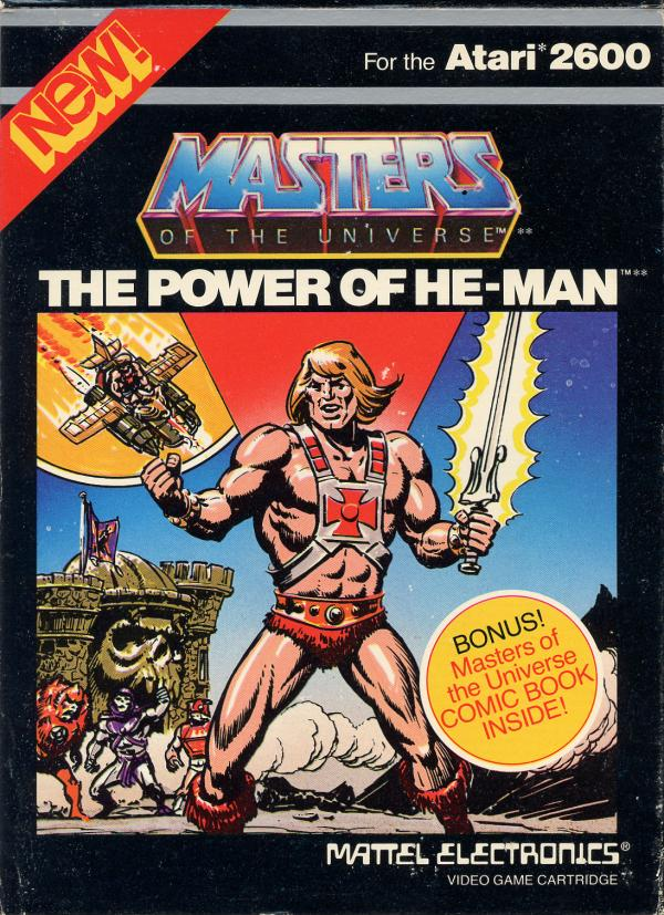 Masters of the Universe - He Man - Box Front