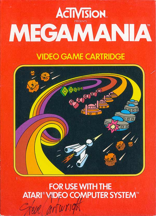 Megamania - Box Front