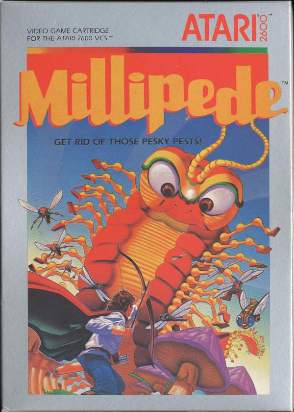 Millipede - Box Front