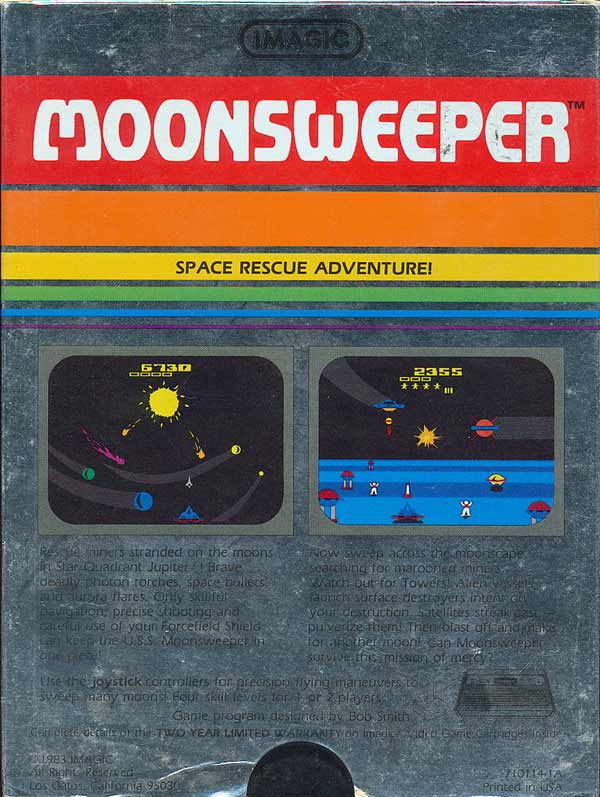 Moonsweeper - Box Back