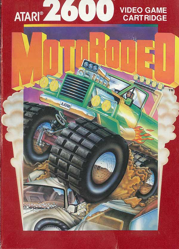 MotoRodeo - Box Front