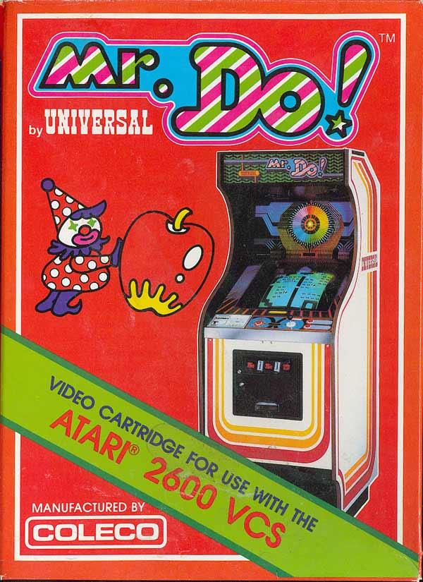 Atariage Atari 2600 Boxes Mr Do Coleco