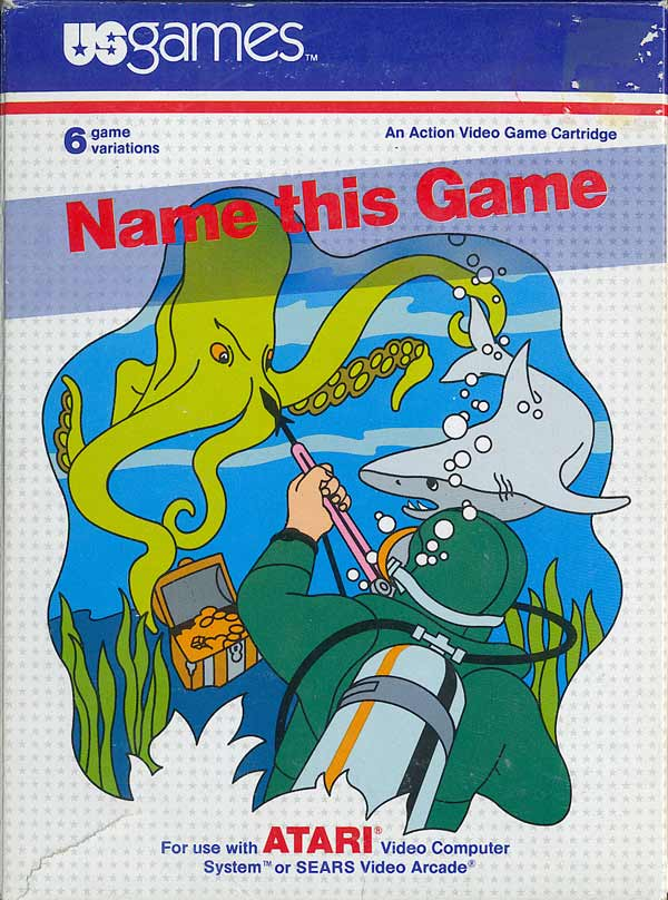 Name This Game - Box Front