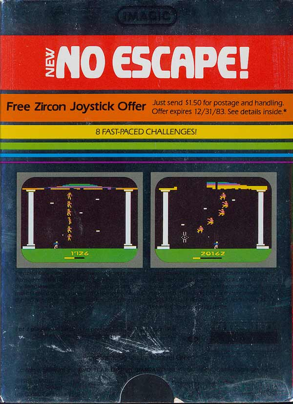 No Escape! - Box Back