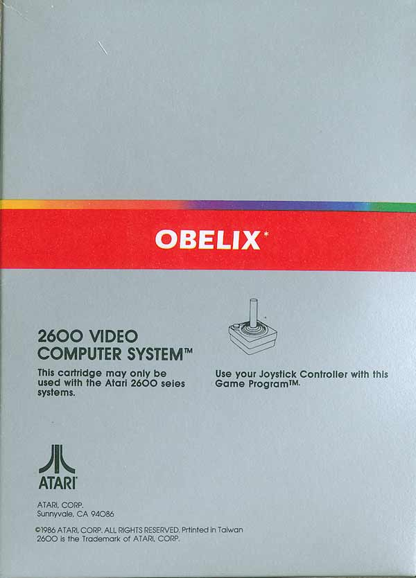 Obelix - Box Back