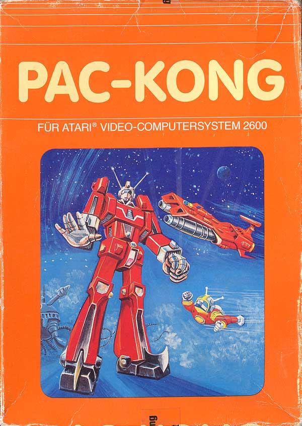 Pac-Kong - Box Front