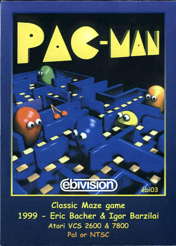 Pac-Man - Box Front