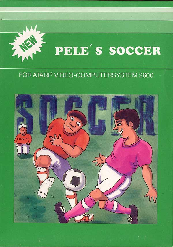 Pele's Soccer - Box Front