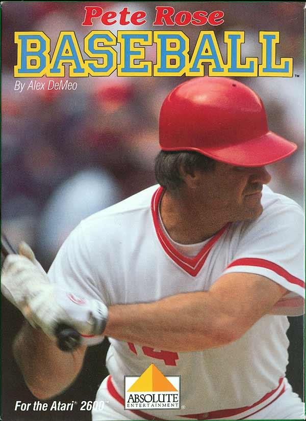 Pete Rose Baseball - Box Front