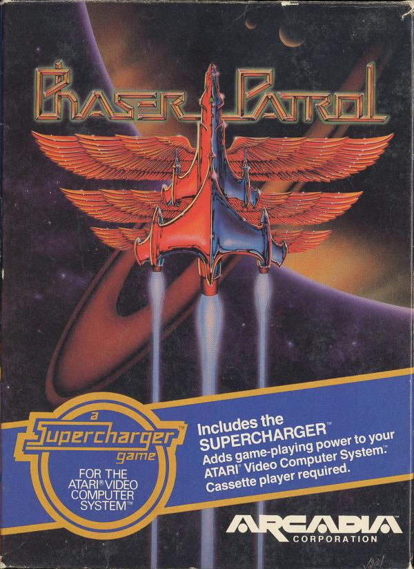 Phaser Patrol - Box Front