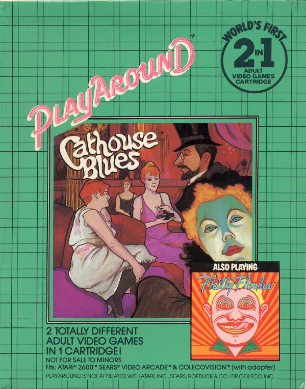Philly Flasher/Cathouse Blues - Box Back