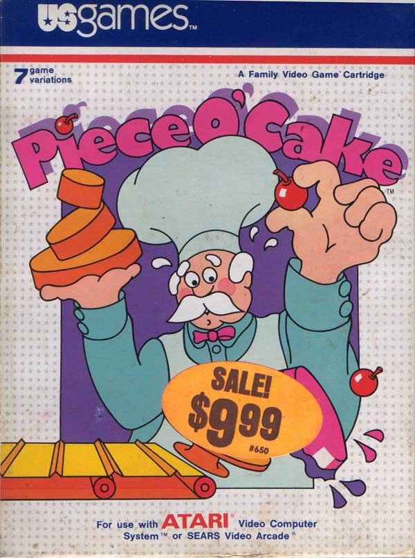 Piece o' Cake - Box Front