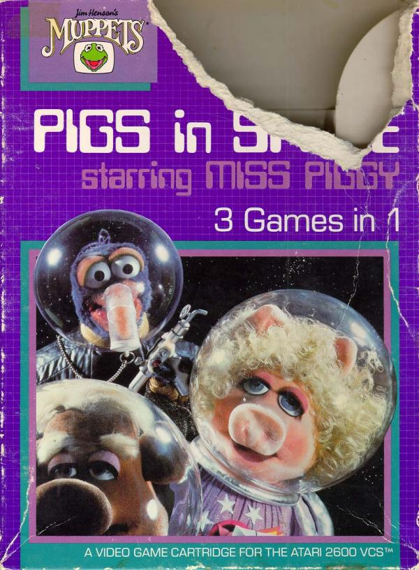 Pigs in Space - Box Front