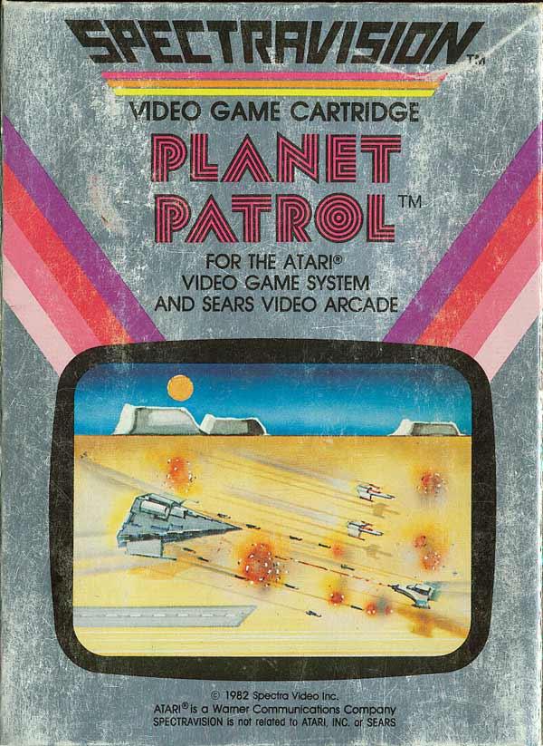Planet Patrol - Box Front