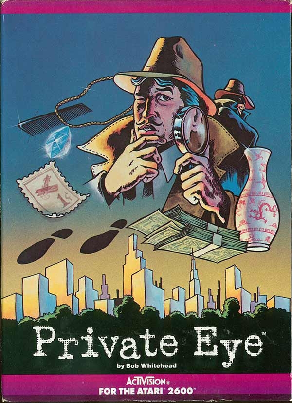 Private Eye - Box Front