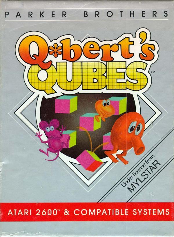 Q*bert's Qubes - Box Front