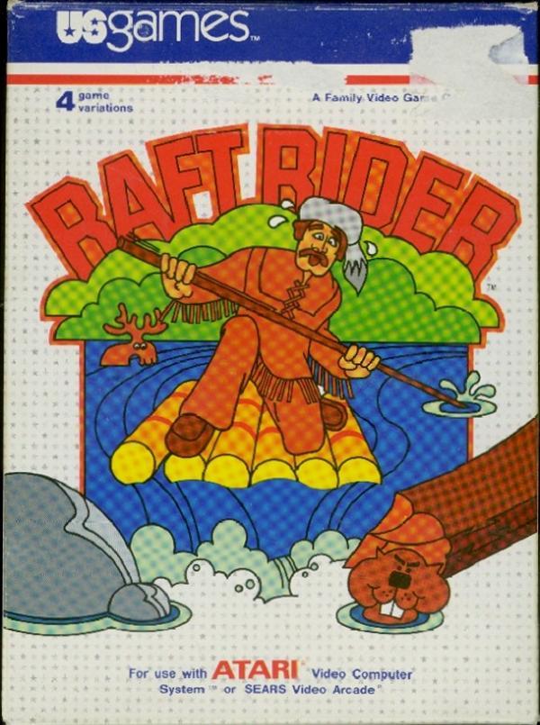 Raft Rider - Box Front