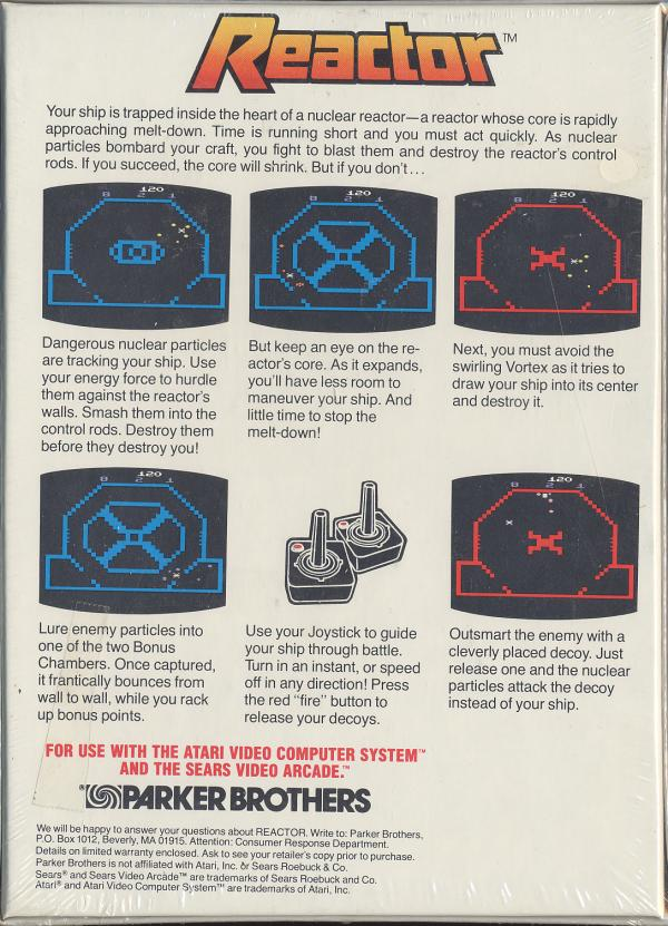 Reactor - Box Back