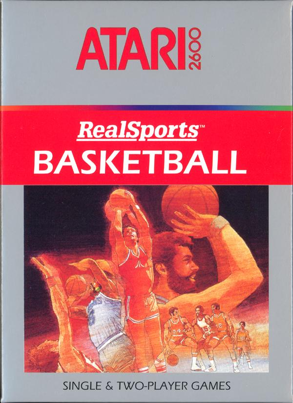 RealSports Basketball - Box Front