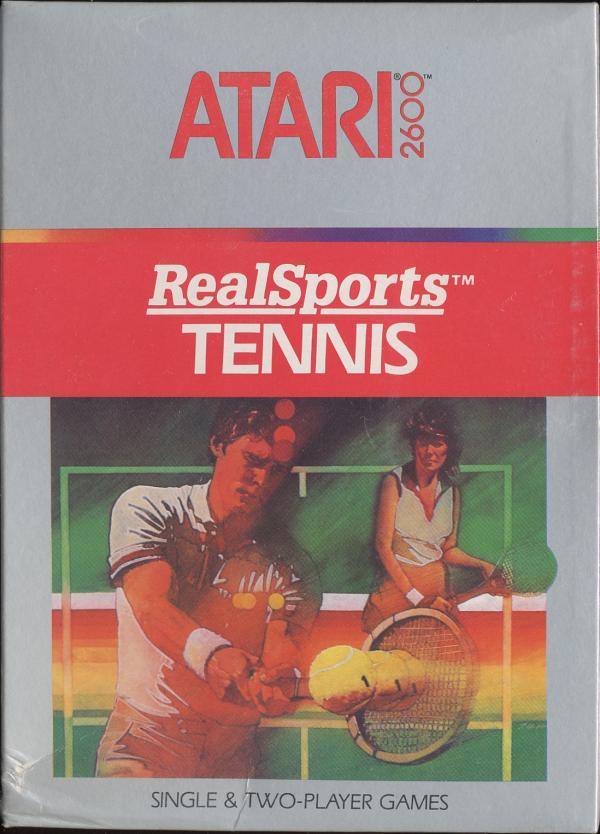 RealSports Tennis - Box Front