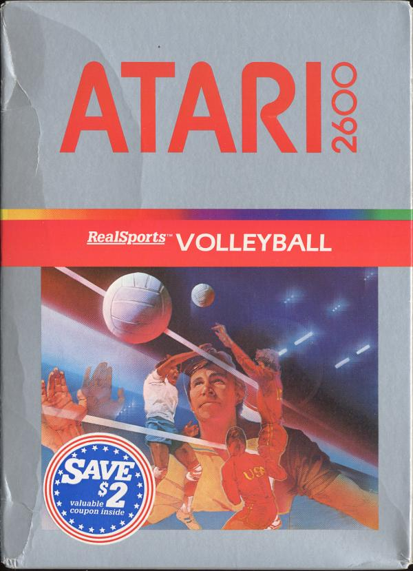 RealSports Volleyball - Box Front