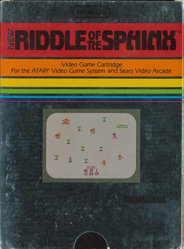Riddle of the Sphinx - Box Back