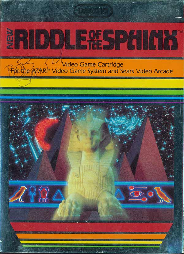 Riddle of the Sphinx - Box Front